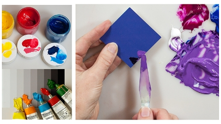 New & Easy Color Mixing - for Acrylic & Oil Painters