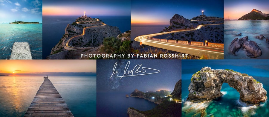 Fabian Rosshirt, is a professional landscape photographer based in Germany.