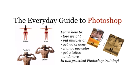 The Everyday Guide to Photoshop