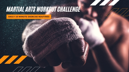 Martial Arts Workout Challenge | Daily Exercise Routines