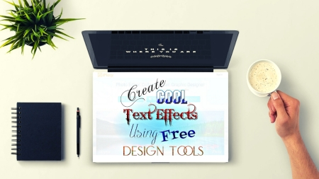 Create Cool Text Effects Using Free Design Tools