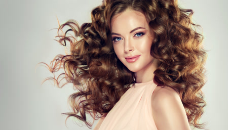 Curly hair routine and volume hairstyle tutorial