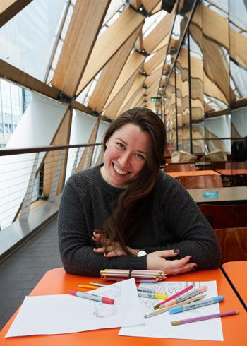 Grinfer instructor - Illustrator & Educator for creatives, Maggie Roman