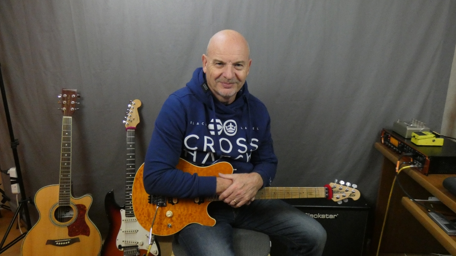 Grinfer instructor - Geoff Sinker, Guitar Teacher